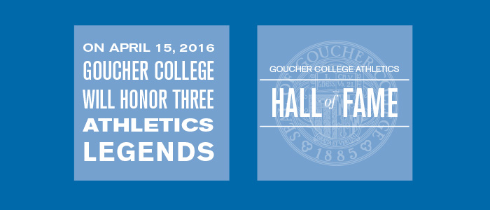 2016 Goucher College Athletics Hall Of Fame